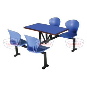 Sofa with table 4-seater