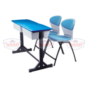 Two Seater Study Desk